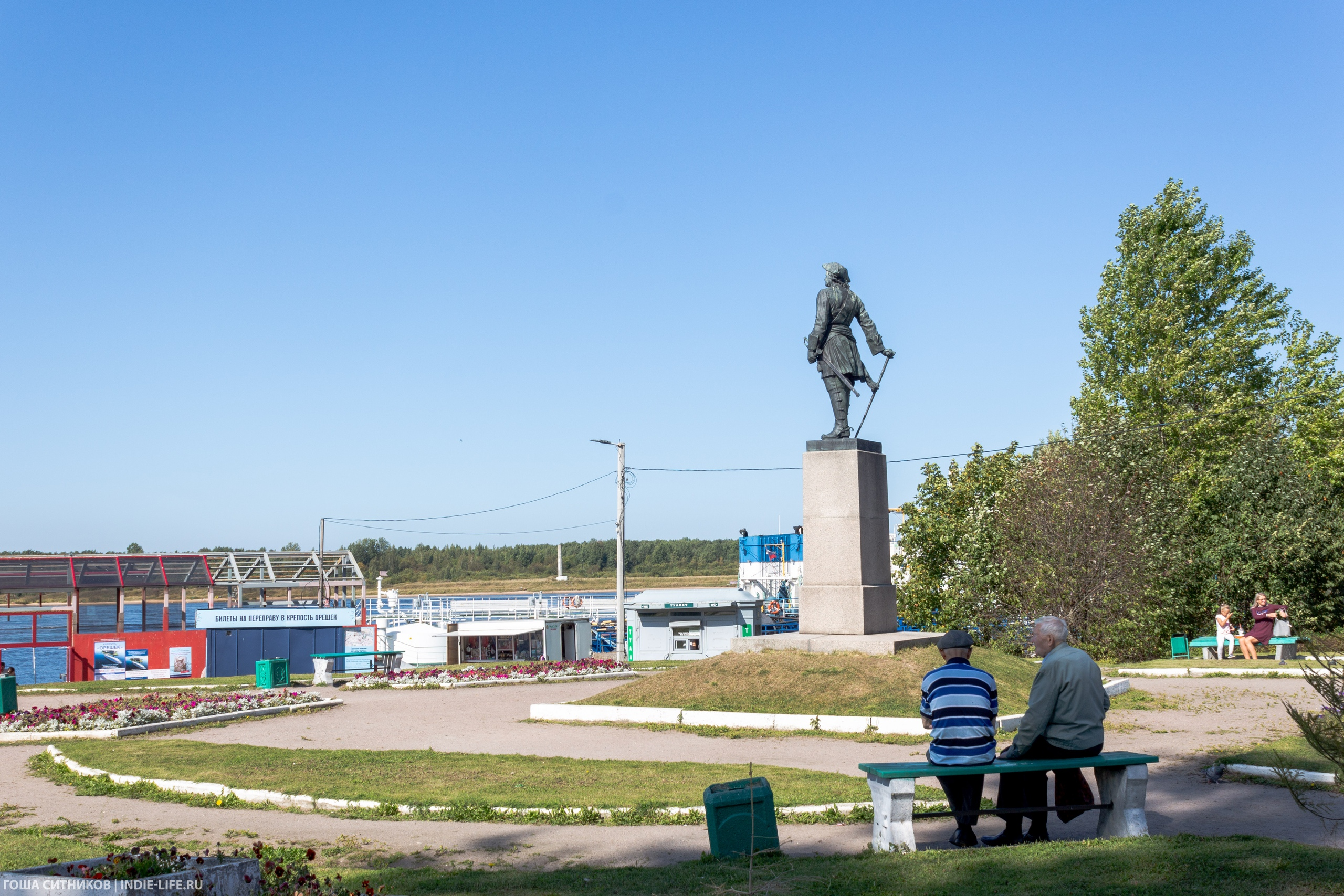 памятник Петру I Шлиссельбург