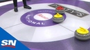 Top 5 Most Insane Shots From Boost National Grand Slam of Curling