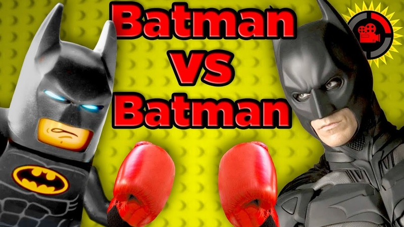 Film Theory LEGO Batman vs DC Batman Who's The Strongest Batman