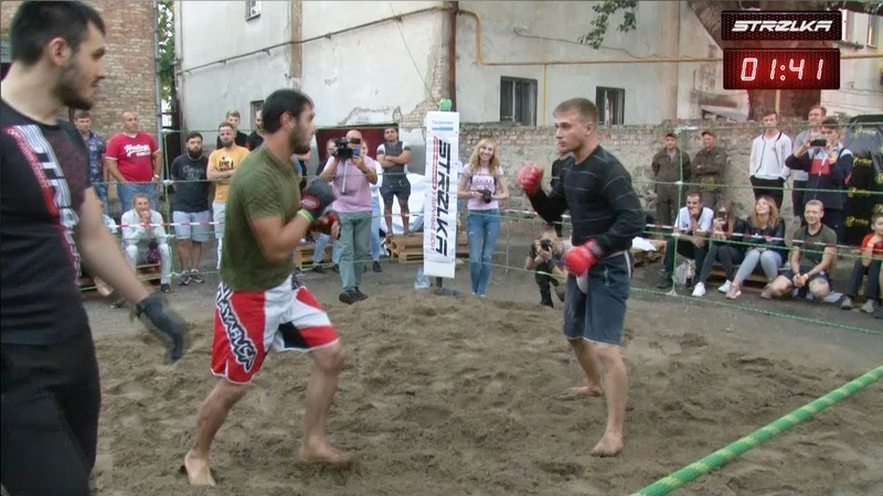 Волк Есентуков против Кикбоксера