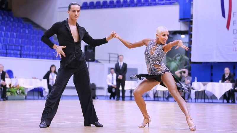 Gabriele Goffredo Anna Matus MDA 2018 Paris Dance Open WDSF PD LAT solo C