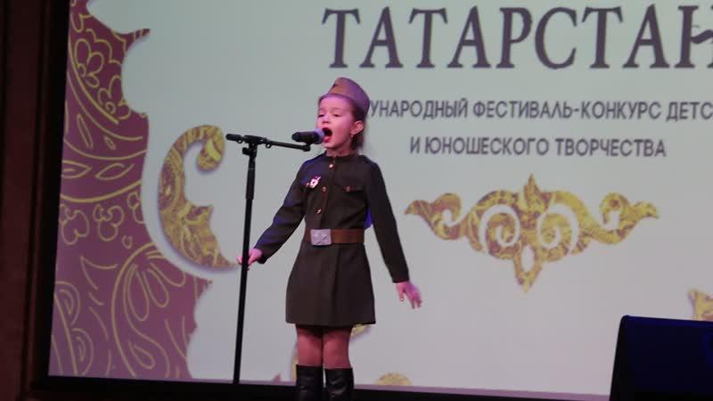 Варвара Панюкова на конкурсе ЖЕМЧУЖИНЫ ТАТАРСТАНА