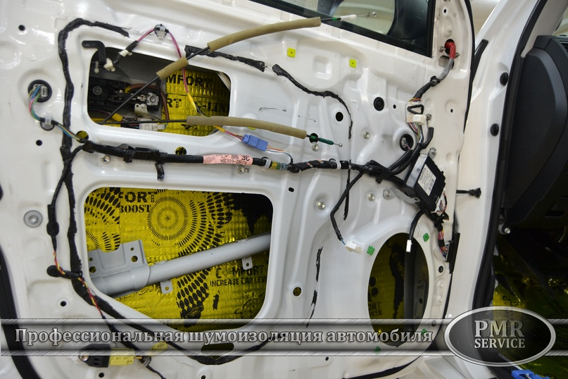 Комплексная шумоизоляция Toyota Land Cruiser 200, изображение №9