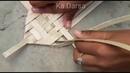 Membuat kipas dari anyaman bambu