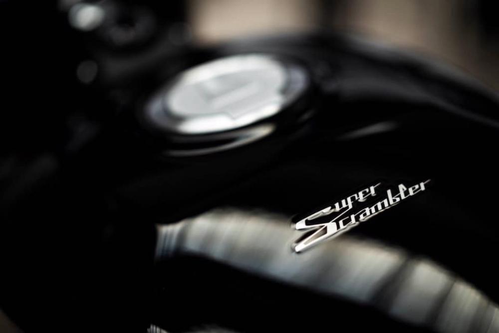 Тизерные фото Moto Morini Super Scrambler