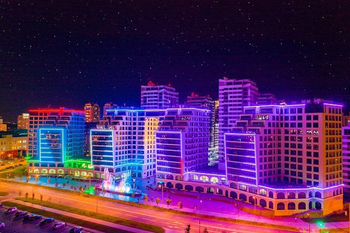 На белорусский строительный рынок выходит Emirates Blue Sky