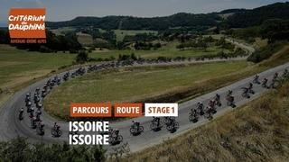 Critérium du Dauphiné 2021 - Découvrez l'étape 1