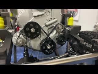 Сборка RC модели 1/6 Suzuki Samurai ЧАСТЬ ТРЕТЬЯ, проект Стаса Каракина