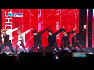 [190928] monsta x shoot out stage mix @ show! music core