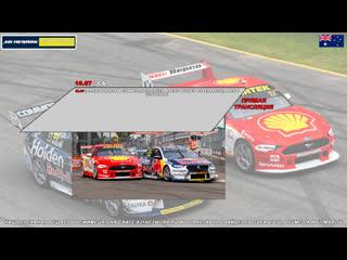 Virgin Australia Supercars Championship: Truck Assist Sydney SuperSprint, Гонка 1,  [A21 Network]