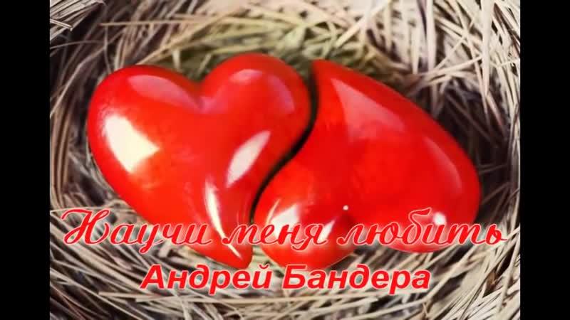 Андрей Бандера Научи меня любить.