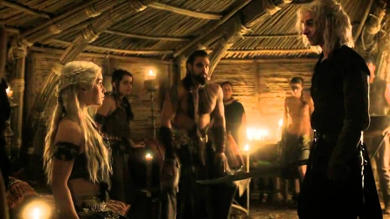 Khal Drogo Killing Viserys A Crown For A King Game of Thrones 1x06 HD