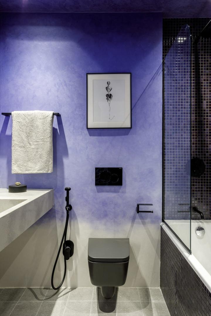 Московская квартира с цветными потолками по дизайну Киры Чувелевой || 02