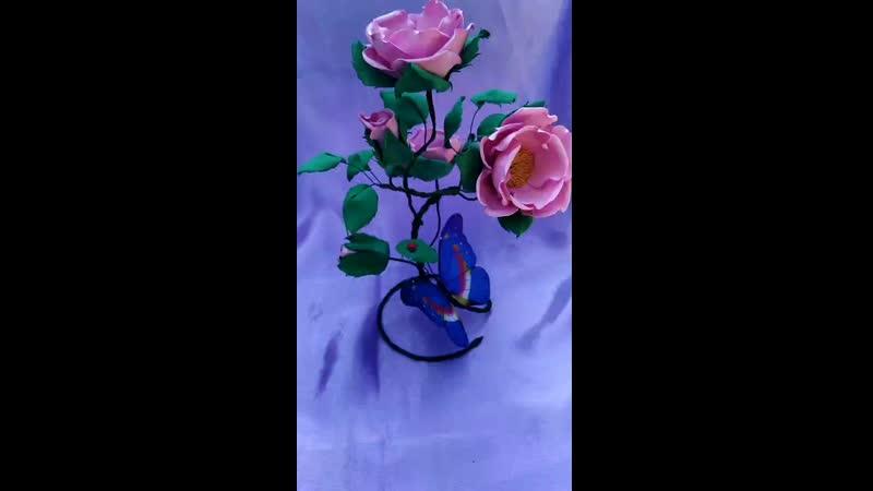 Дикая роза интерьерная
