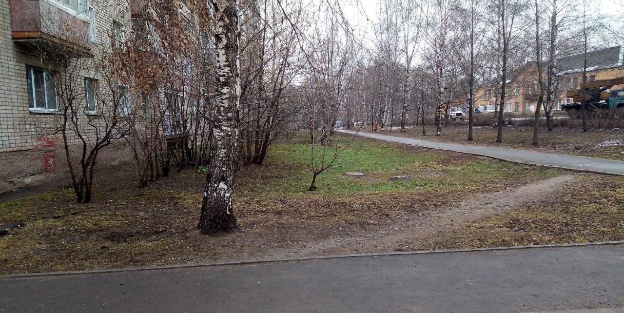 Субботник улица Романа Ердякова дом 14