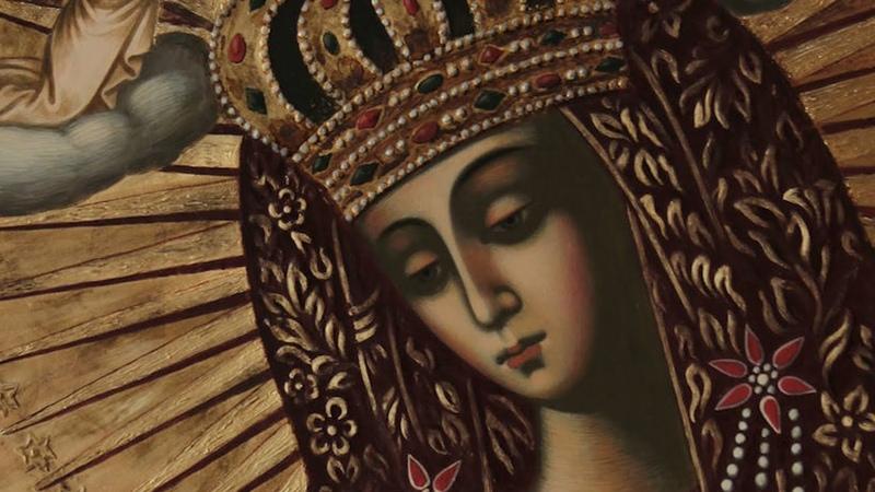 Православный календарь. Икона Богородицы Виленская и Остробрамская Виленская. 27 апреля 2020