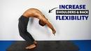 Wheel Pose Yoga Sequence Backbend Flexibility Routine Follow Along