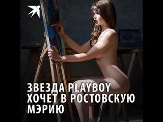 Звезда playboy хочет в ростовскую мэрию