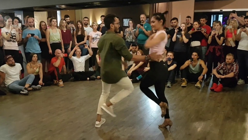 Cornel and Rithika | Kiev Bachata Festival 2019 | Ella Baila Sola - Samuray Kuba