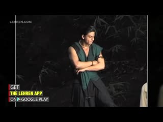 Shah rukh khan kareena kapoor on the sets of asoka ¦ flashback video