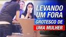 LEVANDO UM FORA GROTESCO DE UMA MULHER INFIELD DAYGAME