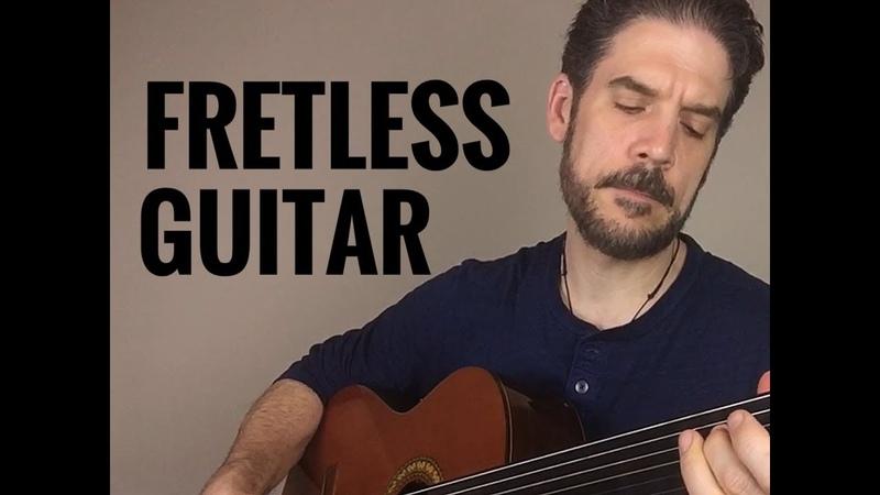 "Fretless Guitar | ""Autumn Arrives"" | Buzz Gravelle"