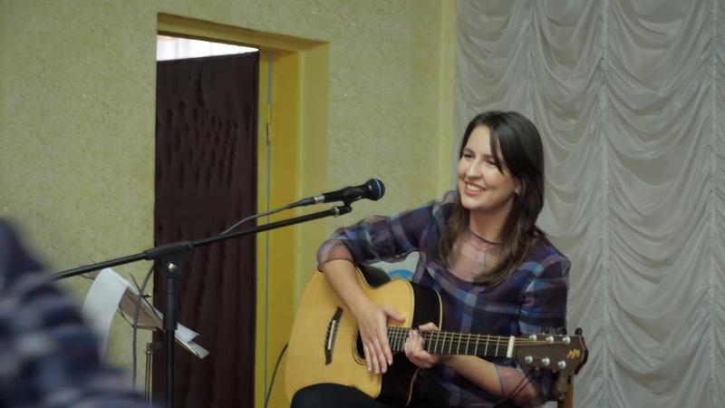 Концерт в городе Кировске, ЛНР. Октябрь 2019