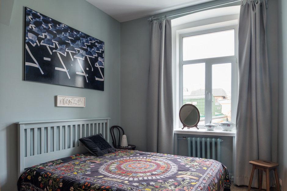 Квартира 80 м² в доходном доме 1915 года от Лизы Винтовой
