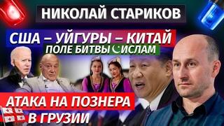 Николай Стариков: США – уйгуры – Китай / поле битвы – ислам / атака на Познера в Грузии