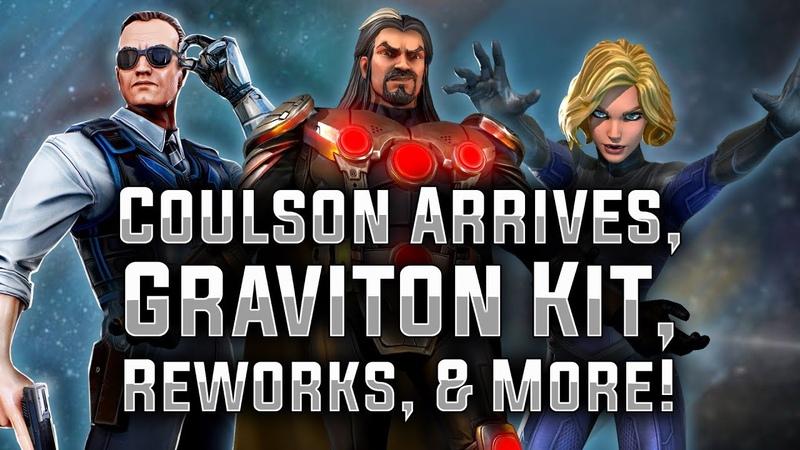 Coulson Arrives, Graviton Kit, Reworks, More! - MARVEL Strike Force - MSF