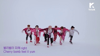 "NCT 127 - ""Cherry Bomb"" Mirrored Dance Practice"