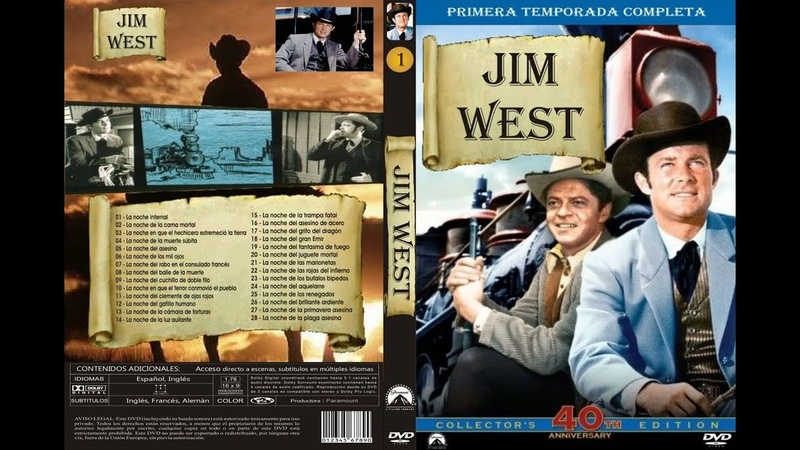Jim West Cap 42 *La noche del brillante ardiente*