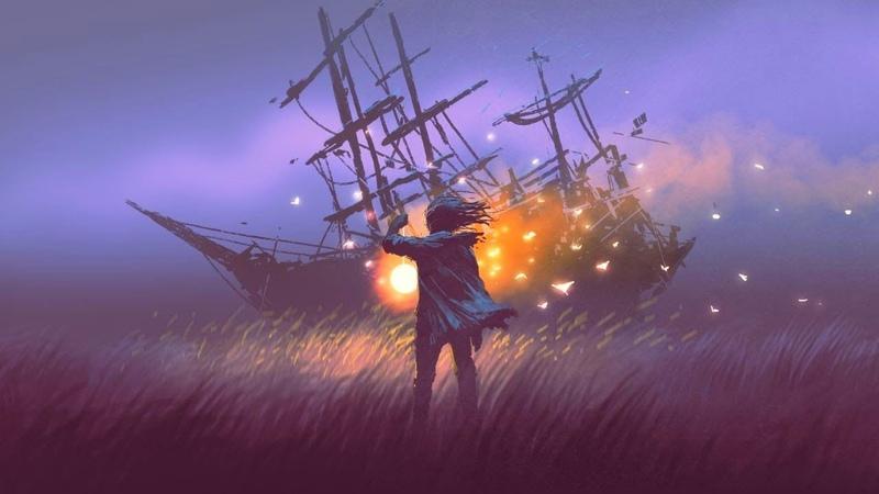 Celtic Fantasy Music The Wizard's Ship Folk Harp Enchanted 1 hour