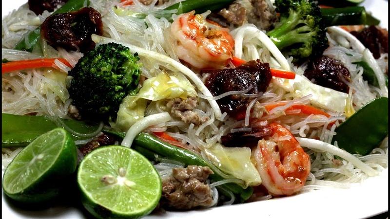 Stir Fry RIce Vermicelli Noodle aka Bihon Guisado