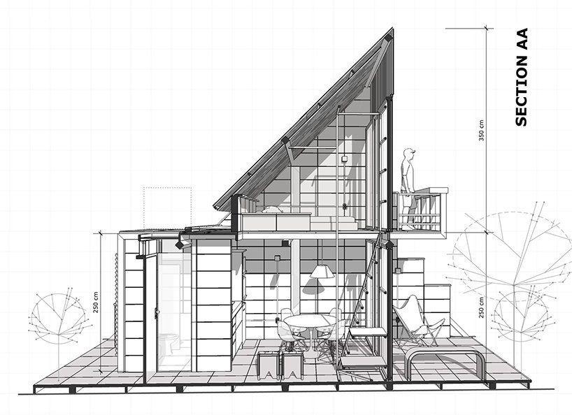 Концепция миниатюрного дома