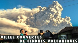 Indonésie : ÉRUPTION du Volcan Sinabung sur l'île de Java | Villes sous cendres volcaniques