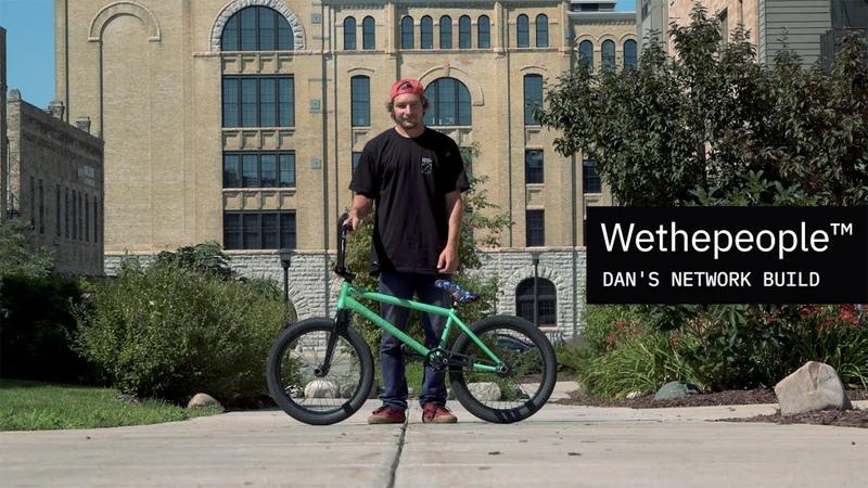 WETHEPEOPLE BMX Dan Kruk's NETWORK Bike Build insidebmx