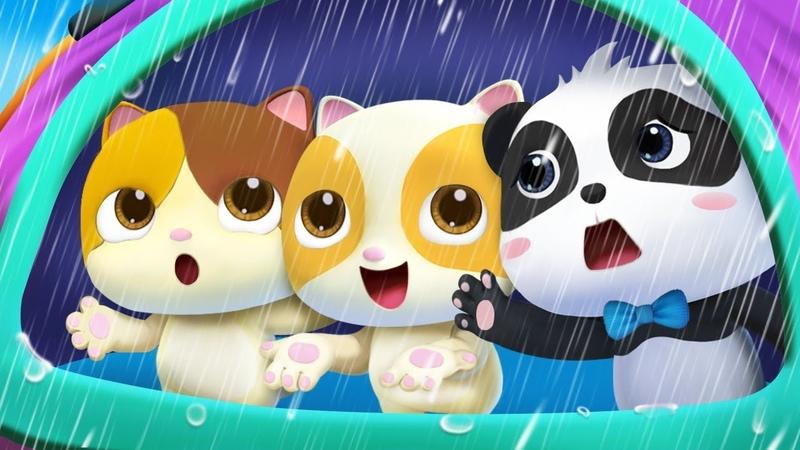 Rain Rain Go Away Swimming Song Color Song Nursery Rhymes Kids Songs BabyBus
