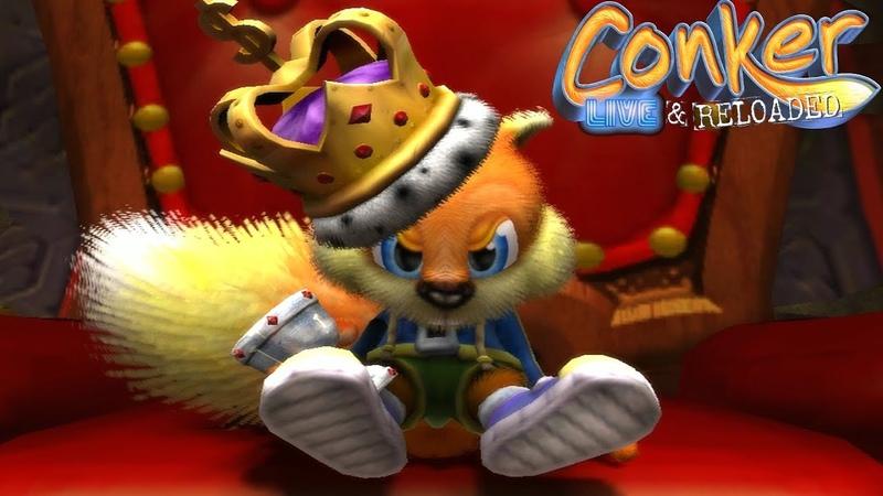 Conker Live Reloaded Full Game Walkthrough