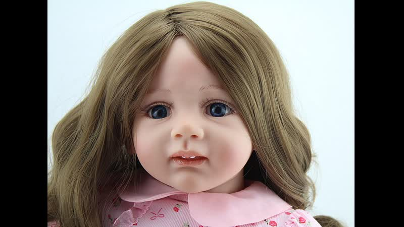 Кукла Адора реборн Маленькая принцесса Adora doll reborn 60 см