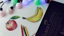 Видео урок рисования цветные карандаши