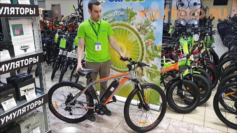 Электровелосипед Eltreco XT600 Обзор Voltreco.ru