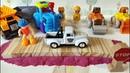 Строим дорогу с Машинками - Игруныч Непоседа, детское веселое видео про трактор, каток и грузовичок