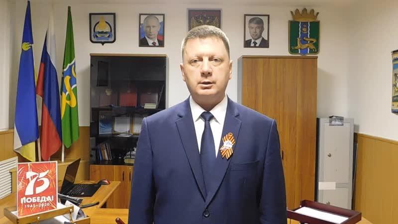 Поздравление главы МО Баргузинский район Мишурин М А
