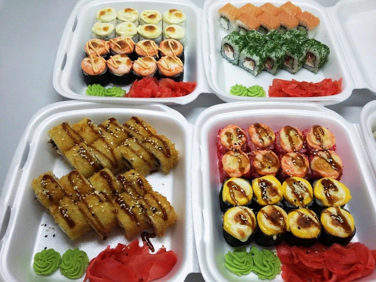 Суши-бар «Три самурая» - Вконтакте