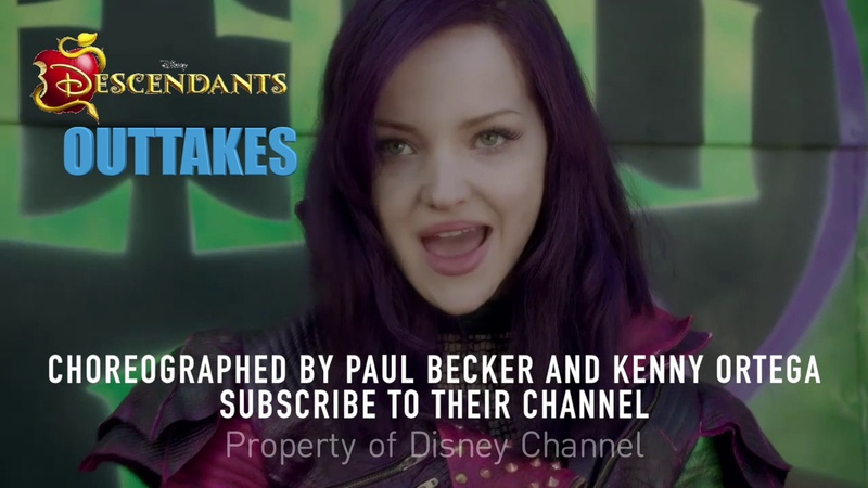 Dove Cameron Outtakes in Descendants Opening