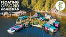 27 YEARS Living Off Grid on a Self Built Island Homestead
