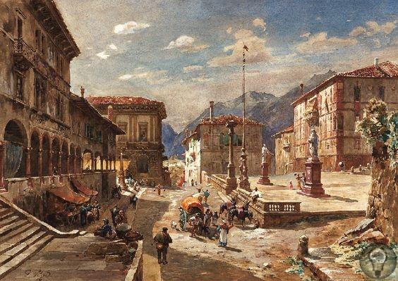 Художник Густав Бауэрфайнд (1848-1904) Немецкий художник, иллюстратор, архитектор. Один из самых известных немецких