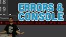 1.5 Errors Console - p5.js Tutorial