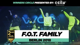 . Family   2nd Place Team Division   Winners Circle   World of Dance Berlin 2018